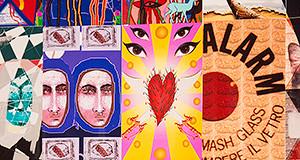 Alcune opere di Sainte Chapelle mostra opera collettiva - Donori - 9 Novembre 2013 - ParteollaClick