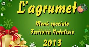 Locandina per Festività Natalizie 2013 - Agriturismo L'Agrumeto - Donori - ParteollaClick