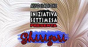 Locandina Ghirigori prima edizione Artisti in opera - 7 e 8 Dicembre 2013 - Settimo San Pietro - Casa Dessy - ParteollaClick