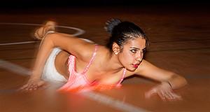 Ballerina in esibizione durante il Saggio di Natale 2013 della Scuola di Ballo Mambo Dance e Fitness 2000 Donori