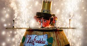 Foto di Ziccheddu, il simbolo del Carnevale del Parteolla