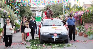 Foto alla Processione di San Giacomo a Soleminis -25 Luglio 2014
