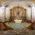 Foto equirettangolare del Santuario di San Giorgio Vescovo a Suelli