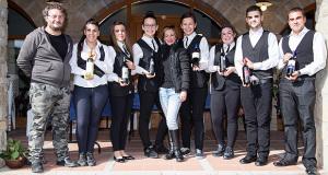 Gruppo di ragazzi organizzatori in posa per Autunno a Serdiana 2014 - 9 Novembre 2014 - ParteollaClick