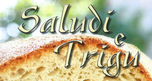 Copertina del libro Saludi e Trigu -