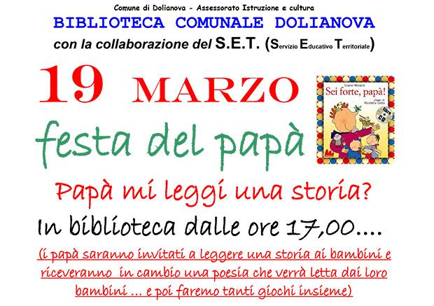 Festa del Papà 2015 - Dolianova - Biblioteca Comunale - 19 Marzo 2015 - ParteollaClick