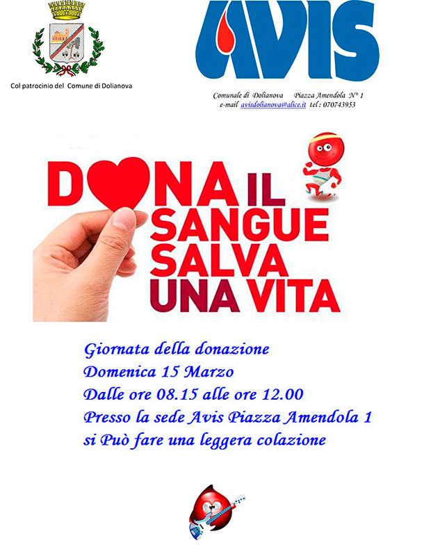 Giornata della Donazione 2015- Associazione Avis in Piazza Amendola - Dolianova - 15 Marzo 2015 - ParteolalClick