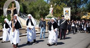 Foto alla Festa Patronale di San Giorgio Vescovo in occasione de S'Ottada- Donori - 3 Maggio 2015 - ParteollaClick