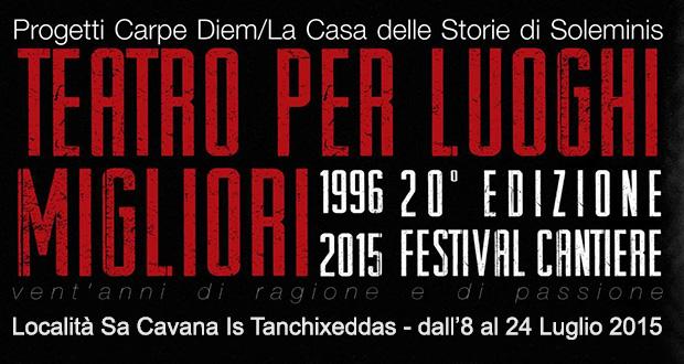 Locandina 20ª edizione del Festival Cantiere - Soleminis - ParteollaClick