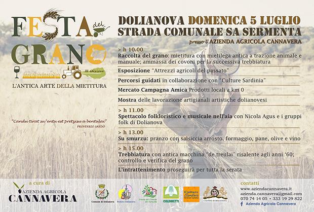 3ª edizione della Festa del Grano nell'Azienda Agricola Cannavera - Dolianova -5 Luglio 2014 - ParteollaClick