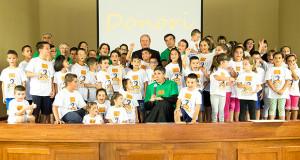 Foto di gruppo alla Festa dei 200 Anni della nascita di Don Bosco - Donori - 6 Agosto 2015 - ParteollaClick