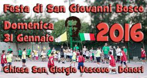 Banner Festa di San Giovanni Bosco - Donori, Chiesa San Giorgio Vescovo - 31 Gennaio 2016 - ParteollaClick