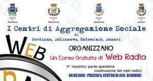 Banner Corso gratuito del Parteolla di Web Radio - Donori - Lunedì 8 Febbraio 2016 - ParteollaClick