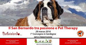 Banner 1° Convegno in Sardegna Il San Bernardo tra passione e Pet Therapy - Babaiola Pet Village, Donori - 28 Marzo 2016 - ParteollaClick