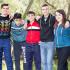 Gruppo di giovani di Donori in posa per la foto ricordo in occasione di Pasquetta 2016 a Sa Rocca de Is Piccionis - Donori - 28 Marzo 2016 - ParteollaClick