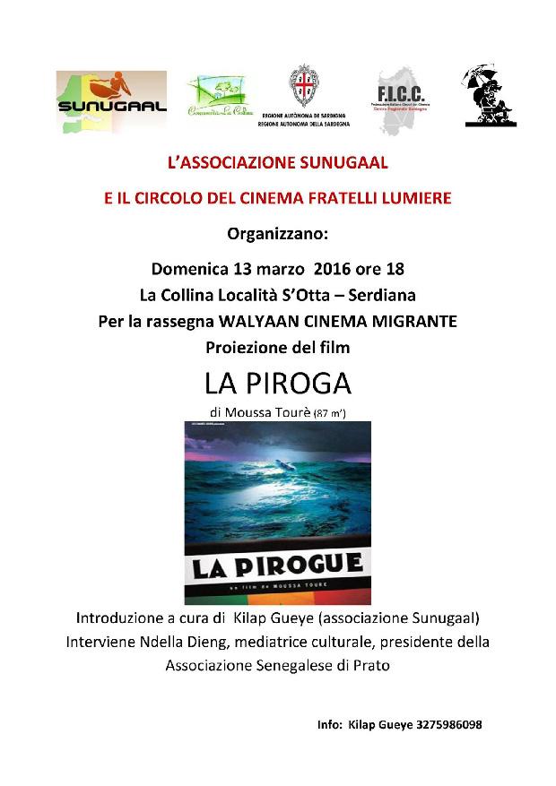Proiezione del Film La Piroga di Moussa Tourè - Comunità La Collina, Serdiana - 13 Marzo 2016 - ParteollaClick