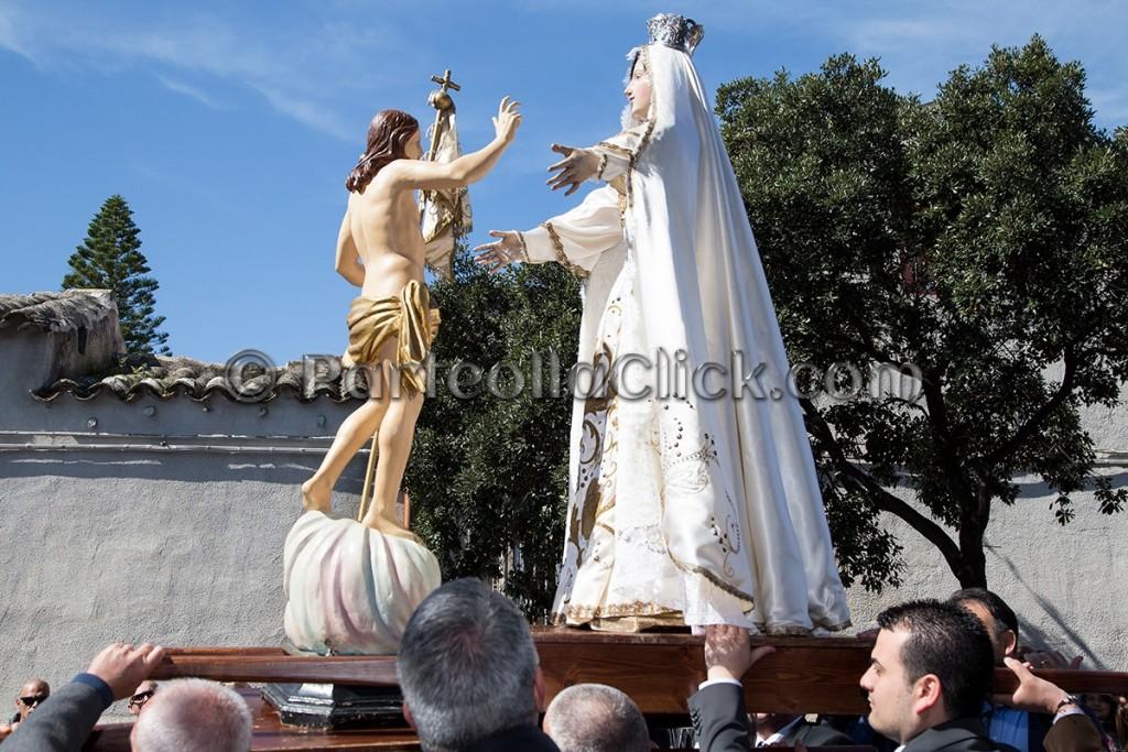 015 Pasqua di Risurrezione rito de S'incontru - Settimo San Pietro - 27 Marzo 2016 - ParteollaClick