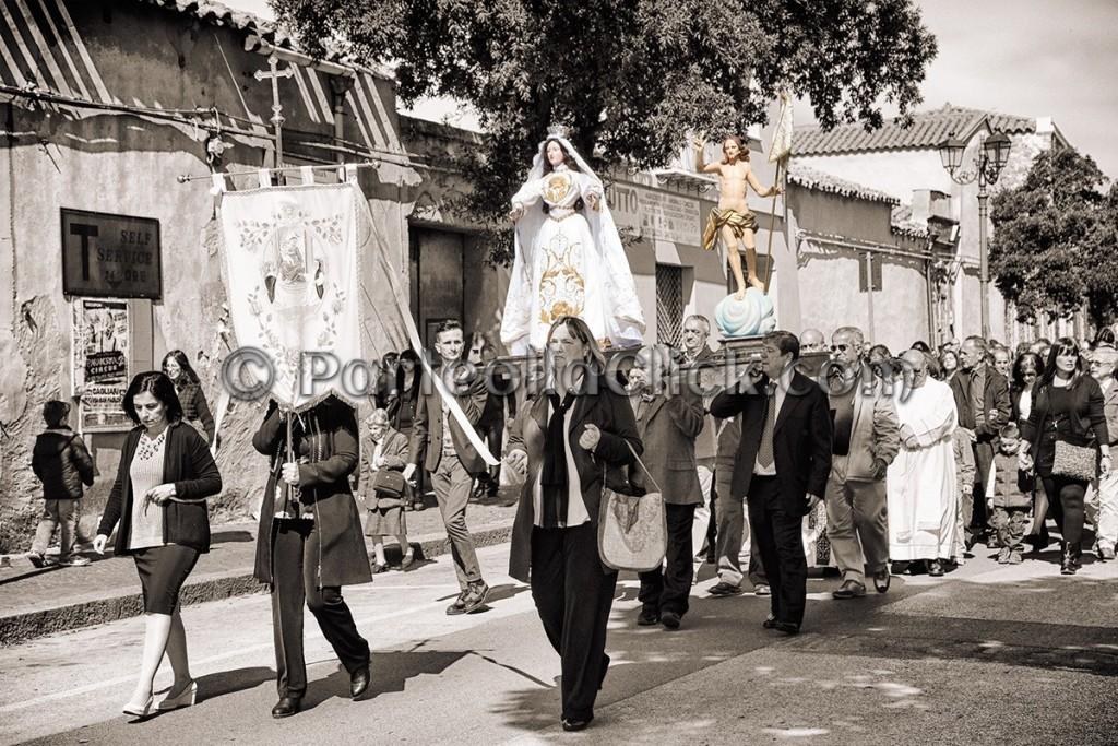 020 Pasqua di Risurrezione rito de S'incontru - Settimo San Pietro - 27 Marzo 2016 - ParteollaClick