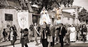 Foto alla Processione in occasione della Pasqua di Risurrezione rito de S'incontru - Settimo San Pietro - 27 Marzo 2016 - ParteollaClick