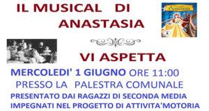 Baner Musical di Anastasia, saggio dei ragazzi della seconda media - Donori - 1 Giugno 2016 - ParteollaClick