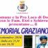 Baanner 10° Memorial Graziano Etzi - Donori, Piazza Italia - Sabato - 3 Settembre 2016 - ParteollaClick