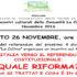 Banner Quale Riforma? L'Italia verso il Referendum Costituzionale - Comunità La Collina, Serdiana - 26 Novembre - ParteollaClick