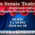 Banner Tre Serate Teatrali, organizzate dalla Compagnia Teatrale Doliense, al Circolo Dolia - Dolianova - 26 Novembre, 3 e 10 Dicembre 2016 - ParteollaClick