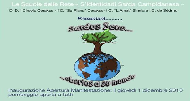Banner Inaugurazione Progetto Sardus Seus...obertus a Su Mundu - Settimo San Pietro, Casa Dessy - 1 Dicembre 2016 - ParteollaClick