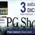 Banner PG Shots Peter Gabriel Tribute Band - Valle della Luna Serdiana - 3 Dicembre 2016 - ParteollaClick