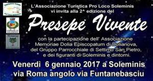 Banner Seconda edizione del Presepe Vivente - Soleminis - Venerdì 6 Gennaio 2017 - ParteollaClick