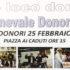 Banner Carnevale Donorese 2017 - Donori, Piazza ai Caduti - Sabato 25 Febbraio 2017 - ParteollaClick