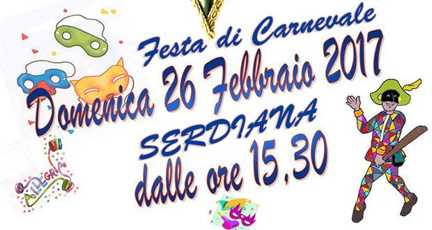 Banner Festa di Carnevale 2017 - Serdiana - 26 Febbraio 2017 - ParteollaClick