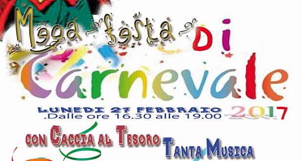 Banner Mega Festa idi Carnevale 2017 - Centro di Aggregazione Sociale Serdiana - 27 Febbraio 2017 - ParteollaClick