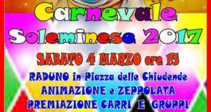 Banner Sfilata di Carnevale 2017 - Soleminis - 4 Marzo 2017 - ParteollaClick