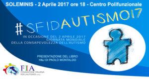 Banner Giornata mondiale di consapevolezza dell'autismo 2017 - Soleminis - 2 Aprile 2017 - ParteollaClick