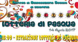 Banner Lotteria e Mercatino di Pasqua 2017 - Centro di Aggregazione Sociale Soleminis - 14 Aprile 2017 - ParteollaClick