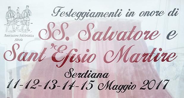 Banner Festeggiamenti Patronali del Santissimo Salvatore 2017 e di S. Efisio Martire - Serdiana - Dal'11 al 15 Maggio 2017 - ParteollaClick