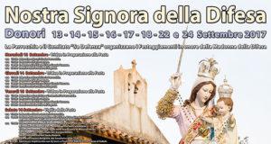 Banner Festa di Nostra Signora della Difesa 2017 - Donori, Chiesa campestre di Sa Defenza - 13, 14, 15, 16, 17, 18, 22 e 24 Settembre 2017 - ParteollaClick