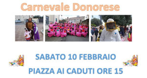 Banner Carnevale Donorese 2018 - Donori - 10 Febbraio 2018 - ParteollaClick
