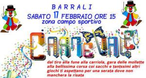 Banner Festa di Carnevale con i Giochi senza Frontiere - Barrali, Palatenda impianti sportivi - 17 Febbraio 2018 - ParteollaClick