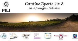 Banner Cantine Aperte 2018 nelle Tenute di Carlo Pili - Soleminis - 26 e 27 Maggio 2018 - ParteollaClick