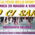 Banner Festa dello Sport 2018 con passeggiata solidale ed esibizioni sportive - Serdiana - 20 Maggio 2018 - ParteollaClick