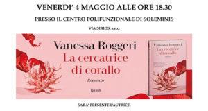Banner Presentazione del libro La cercatrice di corallo di e con Vanessa Roggeri - Soleminis 4 Maggio 2018 - ParteollaClick