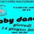 Banner Baby Dance per i bambini delle elementari all'Oratorio San Pantaleo - Dolianova - 14 Giugno 2018 - ParteollaClick