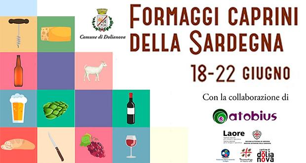 Banner Concorso Formaggi Caprini della Sardegna 2018 - Dolianova - Dal 18 al 22 Giugno 2018 - ParteollaClick