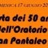 Banner Festa dei 50 anni dell'Oratorio San Pantaleo - Dolianova, Cattedrale San Pantaleo - 17 giugno 2018 - ParteollaClick