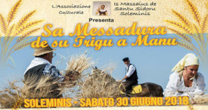 Banner Sa Messadura de Su Trigu a Manu, l'antica mietitura del grano - Soleminis - 30 Giugno 2018 - ParteollaClick