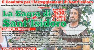 Banner Sagra di Sant'Isidoro 2018 - Soleminis, Chiesa Campestre di Sant'Isidoro - 9 e 10 Giugno 2018 - ParteollaClick