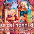 Banner Festa dei Nonni in Oratorio, in occasione di Sant'Anna e San Gioacchino 2018 - Donori, Chiesa San Giorgio Vescovo - 26 Luglio 2018 - ParteollaClick