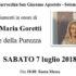 Banner Festeggiamenti in onore Santa Maria Goretti - Chiesa Parrocchiale San Giacomo Maggiore, Soleminis - 7 Luglio 2018 - ParteollaClick